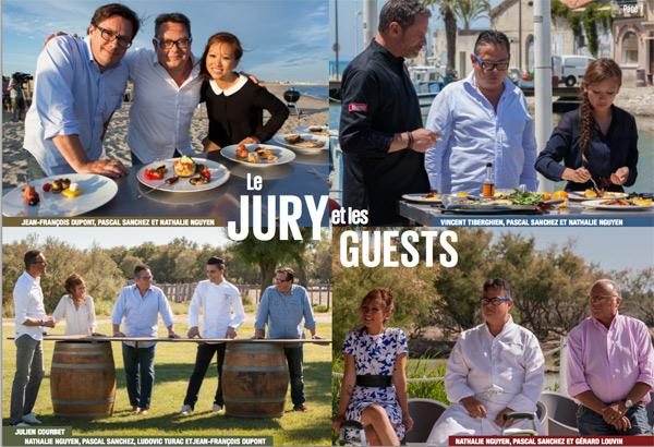 Donnez vos avis sur les rois du barbecue de D8 côté jury et candidats / #roisBBQ