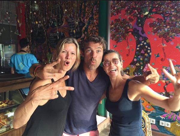 Vacances à Bali pour les acteurs des mystères de l'amour de TMC / Photo facebook Patrick Puydebat