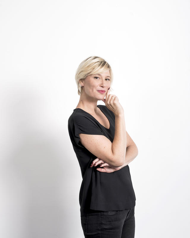 Maïtena Biraben au grand journal : le programme / Photo Augustin Détienne -C+