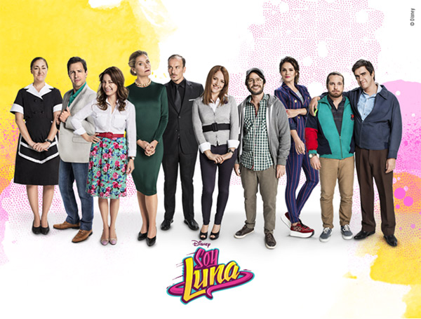Le casting complet de Soy luna la série / Photo Disney Channel