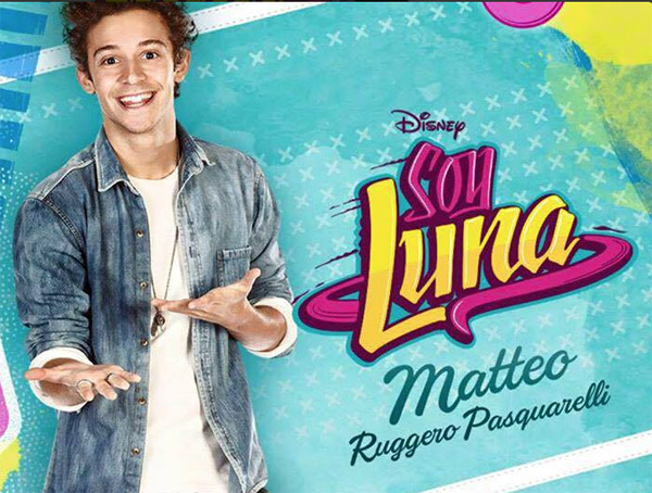 Matteo de Soy luna la série / Photo Disney Channel