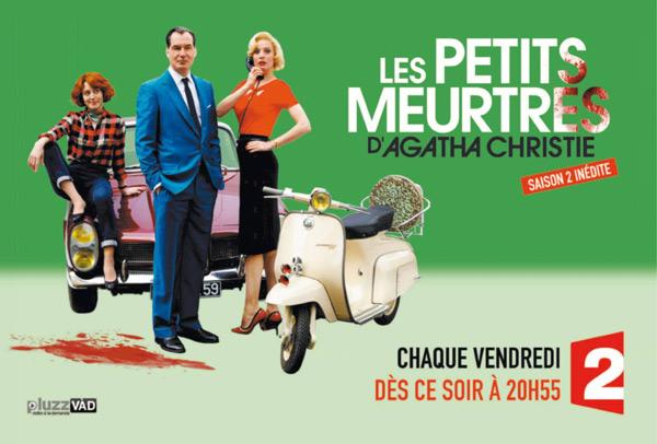 Poster promo Agatha Christine saison 2 de France 2