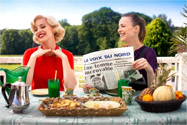 Avis et commentaires sur Petits meurtres d'Agatha Christie 2015 avec la saison 2 : Du glamour et de l'humour  / Photo France 2