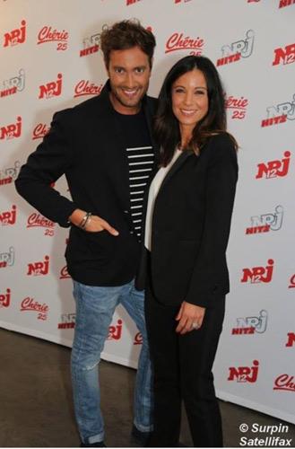 Anne Gaelle Riccio et Adrien Rohard la rentrée NRJ12 / Photo Satelifax