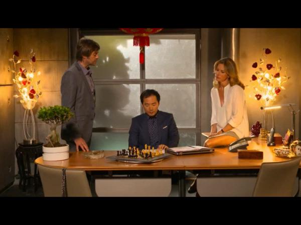 Audrey, Chu et Audrey manigancent contre Peter