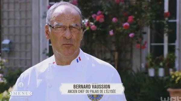Bernard Vaussion dans le meilleur menu de France