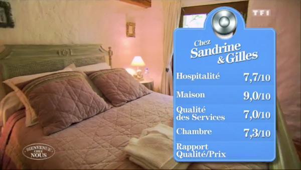 Les notes et avis sur la maison de Sandrine et Gilles dans Bienvenue chez nous de TF1