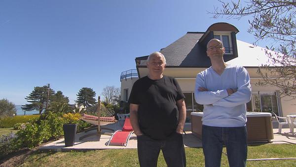 Avis et commentaires sur la maison d'hôtes de Jean françois et Pierre de Bienvenue chez nous / Photo TF1