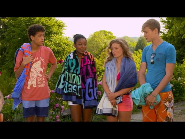 Nicky, Léa, Gwen, Erwan dans les mystères de l'amour saison 10 : les enfants