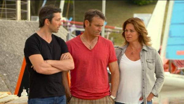 Jimmy, Christian et Olga dans les mystères de l'amour saison 10 #LMDLA