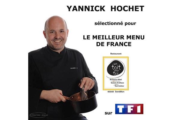 Avis et commentaires sur Yannick Hochet du meilleur menu de France sur TF1 - Facebook Brasserie-Un-Toit-Pour-Toi