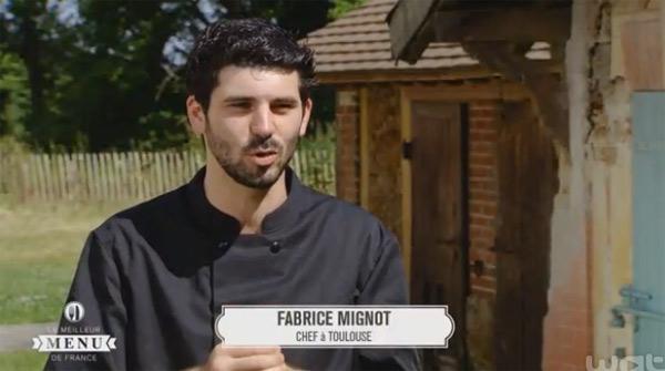 Fabrice Mignot seul chef dans #LMMDF sans restaurant