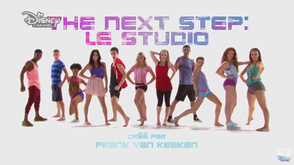 The next step : le studio : disney channel France