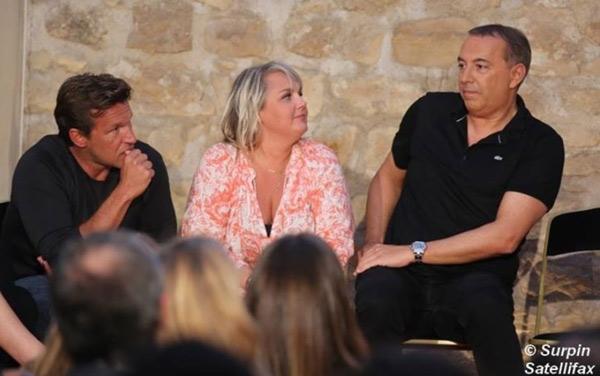 Castaldi, Damidot et Morandini pour la rentrée 215 de NRJ12 / Photo Satellifax