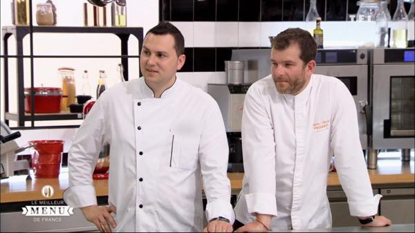 Stephane et Pierre Olivier les finalistes du meilleur menu de France