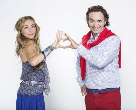 Camille et Philippe la nouveauté #SDM de M6 à la rentrée 2015 / Crédit : Cecile ROGUE/M6