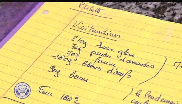 La recette des visitandines de M6 dans la meilleure boulangerie de France du 17/08