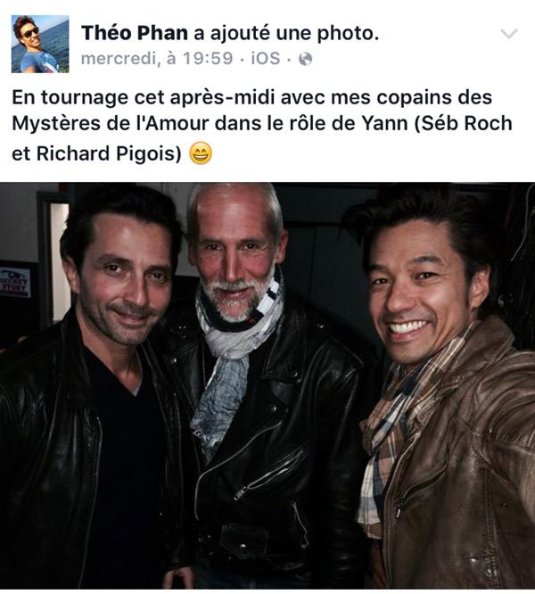Theo Phan alias Yann revient dans LMDLA saison 10