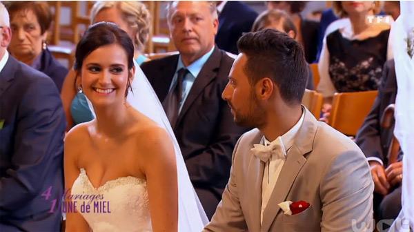 Le mariage de Gabrielle et Antonino dans 4 mariages pour 1 lune de miel