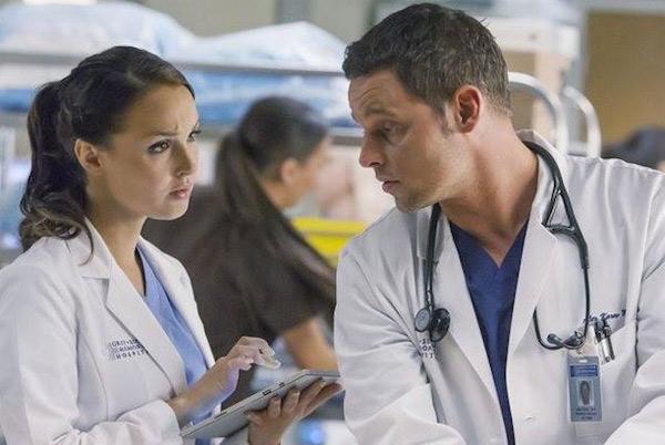 Alex et Jo le plus beau couple de #GreysAnatomy saison 12 ?