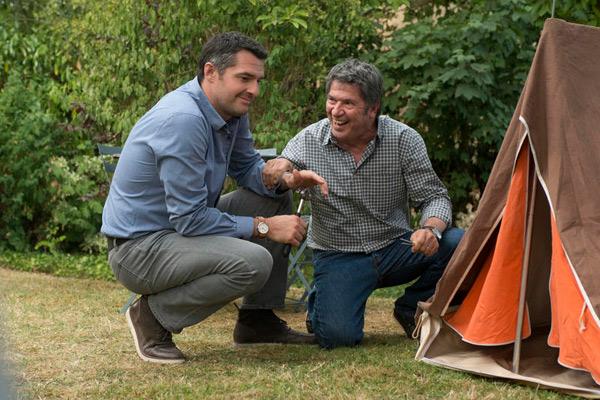 Parents mode d'emploi : le père de Gaby sur france 2 / Photo Bernard Barbereau-FTV