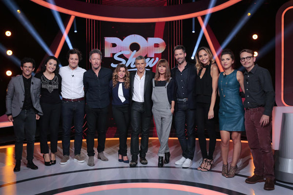 Les stars de Pop Show sur France 2 / Photo Gilles Gustine-Fr2