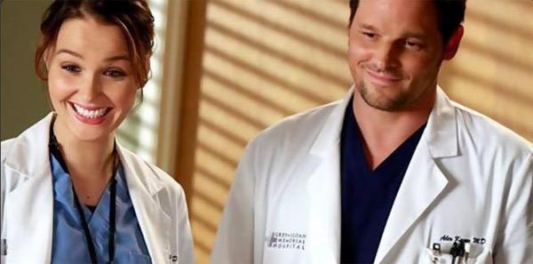 Jo et Alex toujours amoureux dans Grey's Anatomy saison 12 ?