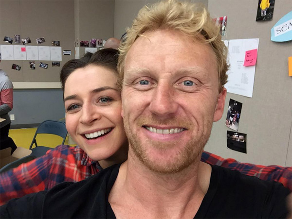 Amelia et Owen le couple glam' de Grey's Anatomy saison 12 / Photo twitter