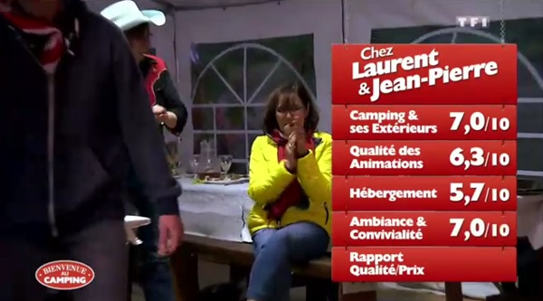 Les notes du camping de Laurent et Jean pierre de Bienvenue au camping
