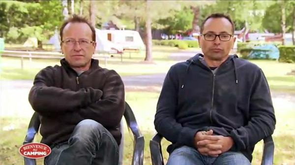 Laurent et Jean Pierre les futurs gagnants de Bienvenue au camping ?