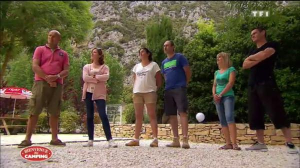 les candidats de Bienvenue au camping cette semaine sur TF1
