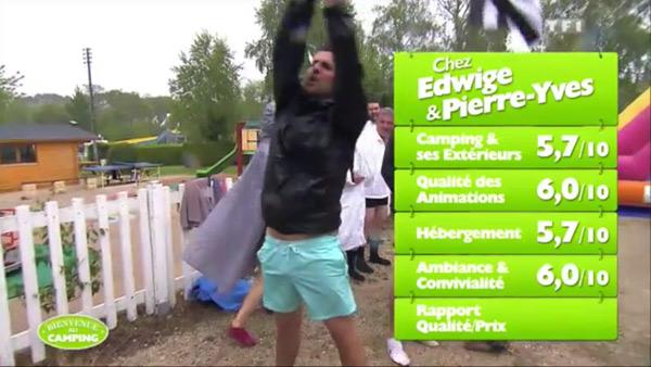 Les notes du camping d'Edwige et Pierre Yves de #BienvenueAuCamping