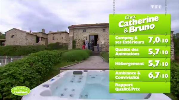 Les notes de Catherine et Bruno dans #BienvenueAuCamping