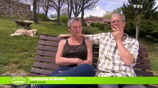 Catherine et Bruno dans Bienvenue au camping : ont-ils tout pour réussir ?