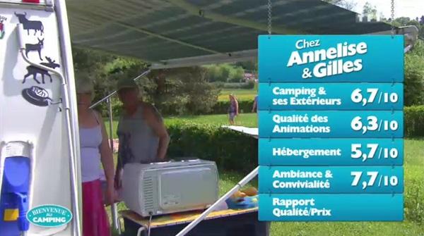 Les notes pour Annelise et Gilles : peuvent-ils remporter Bienvenue au camping ?