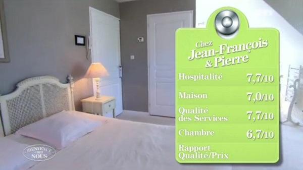 Les notes de Jean François et Pierre dans Bienvenue chez nous