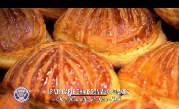 La recette du véritable chausson aux pommes de Manuella et Jean Noël