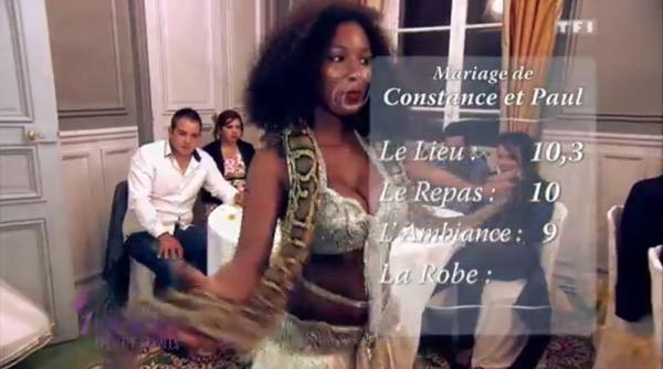 Les notes de Constance et Paul dans 4 mariages : la moyenne juste !!