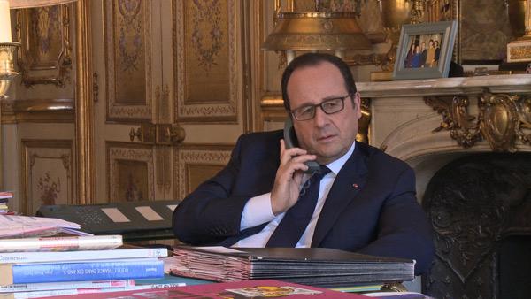 Vos avis sur le doc France 3 à l'Elysée sur François Hollande / Photo La générale de Production