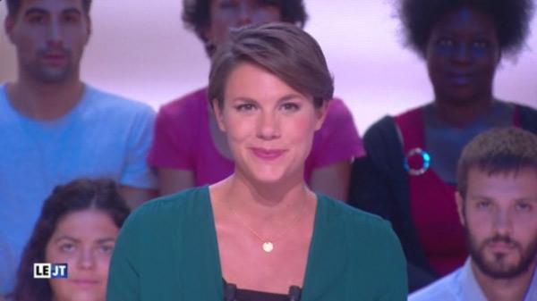 Emilie Besse est-elle enceinte, enrhumée ... dans la nouvelle edition de la rentrée 2015 #LNE