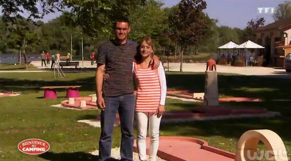 Le camping d'Emilie et Jérôme de Bienvenue au camping sur TF1 : vos réactions