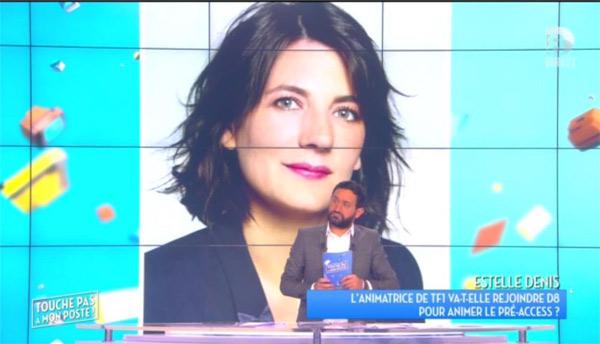 C'est quoi le talk show de sports d'Estelle Denis sur D8 ? / Capture écran