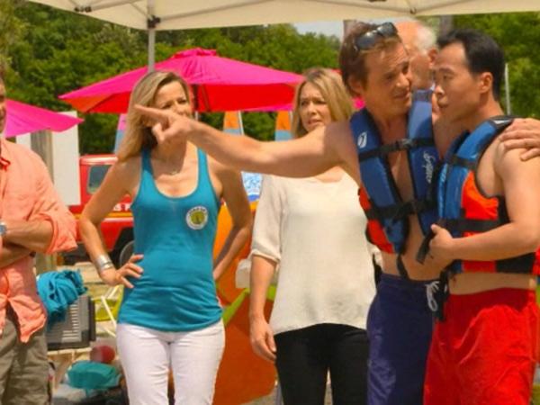 Peter et Li : de belles scènes comiques au watersport