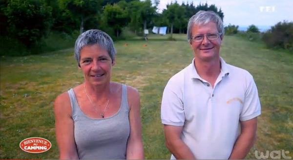 Les réactions et commentaire sur le camping de Catherine et Bruno de Bienvenue au camping sur TF1