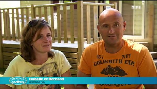 Isabelle et Benard : camping gagnant cette semaine?