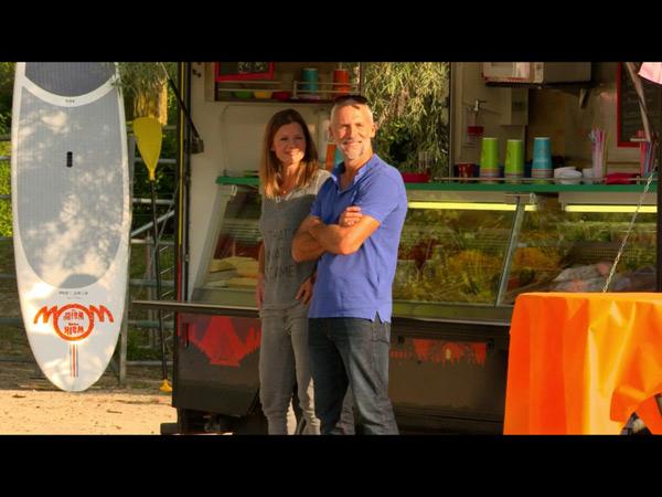 Laly et John gardent le food truck de Béné et Jimmy