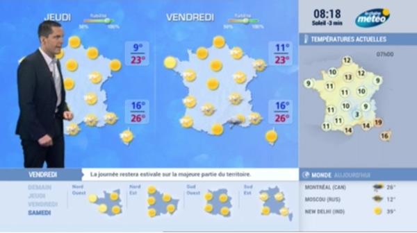 Vos avis et commentaires sur les changements de la chaîne météo à la rentrée 2015