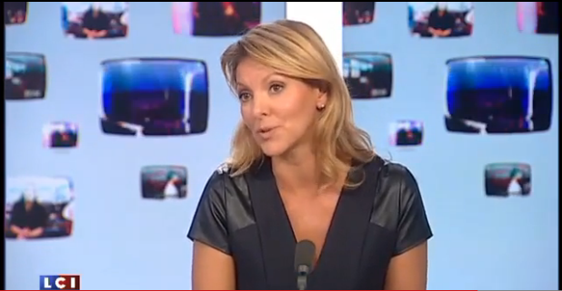 Linda Bouras dans La médiasphère LCI