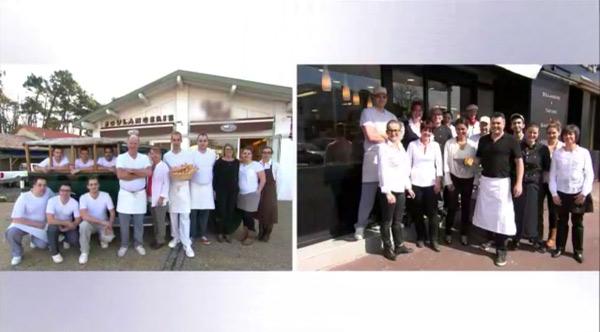 Les boulangers en Gironde pour la meilleure boulangerie de france 2015