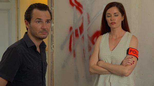 Anthony et Marie sur la scène de crime
